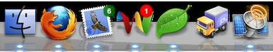Google Wave en el Dock de Leopard